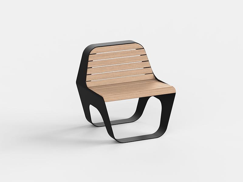 Seduta con schienale | Seat with Backrest